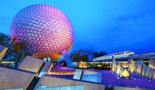 Disney Gallery Epcot Main Entrance